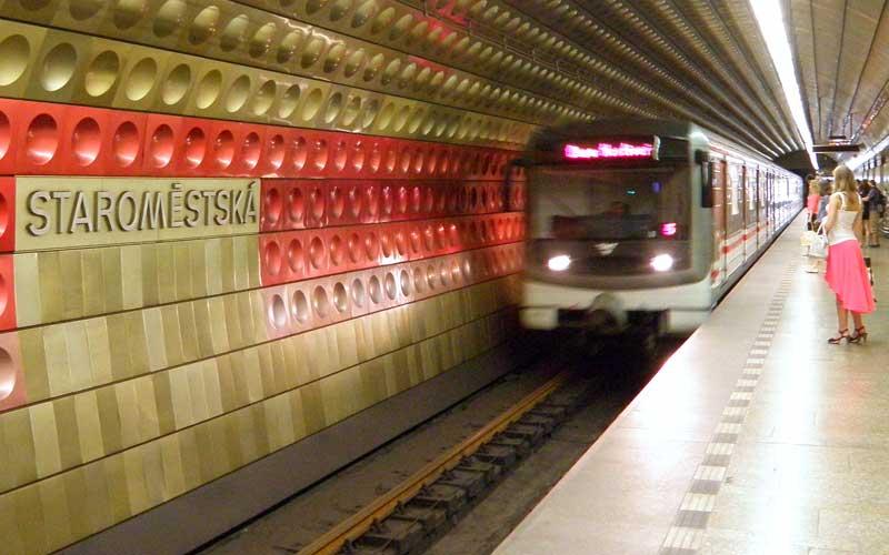 Metropolitana de Praga