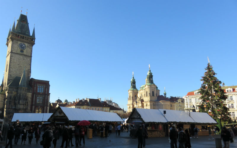Mercato della Piazza della Città Vecchia