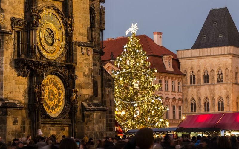 Praga a Natale